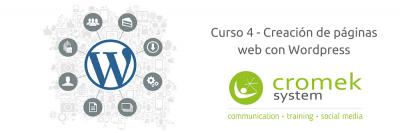 Curso de Wordpress de la agencia de comunicación Cromek System