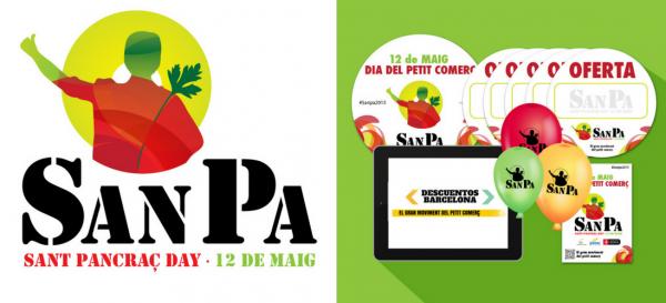 Campaña Sant Pancraç Day de la agencia de marketing y comunicación Cromek System