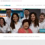 Portfolio de trabajos- página web aribaufarmacia.com desarrollada por la agencia de marketing y comunicación Cromek System