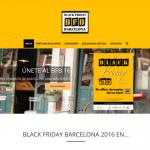 Portfolio de trabajos- página web blackfridaybarcelona.com desarrollada por la agencia de marketing y comunicación Cromek System