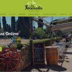 Portfolio de trabajos- página web restaurantelafoixarda.esdesarrollada por la agencia de marketing y comunicación Cromek System
