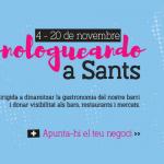 Portfolio de trabajos- evento Monologueando a Sants desarrollado por la agencia de marketing y comunicación Cromek System