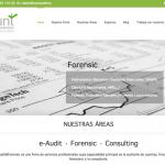 Portfolio de trabajos- página web muntauditandforensic.es desarrollada por la agencia de marketing y comunicación Cromek System